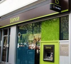 Exterior oficina de Bankia