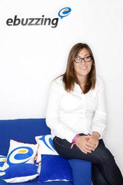 Patricia Cañada directora comercial de Ebuzzing