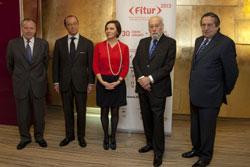 Momento presentación edición 2013 de Fitur