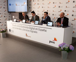Presentación informe de economía digital en 2011