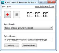 aplicación para grabar videollamadas Skype