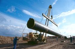 Construcción de distribución de Gas Natural Fenosa