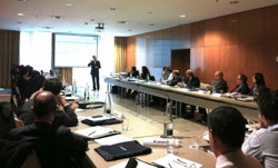 Reunión en Madrid del foro Sisteplant