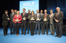 Foto de ganadores premios europeos RSE