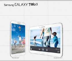Familia Galaxy Tab 3 de Samsung