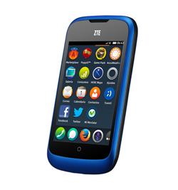 ZTE Open, de Firefox OS