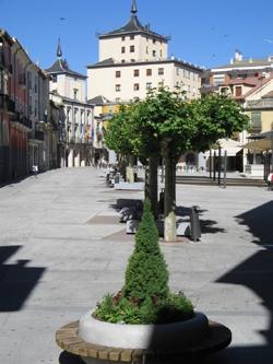 Plaza y Ayuntamiento de Aranda de Duero