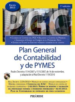 Plan General de Contabilidad, de Pirámide
