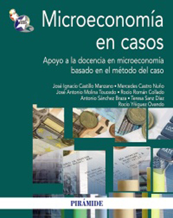 Portada de Microeconomía en casos