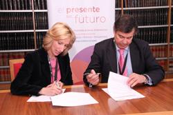 Firma acuerdo Ceaje-ENISA