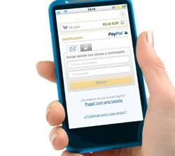 Compra móvil, de PayPal