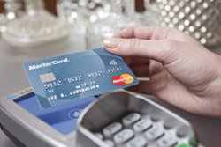 Tarjeta contactlecss, de MasterdCard