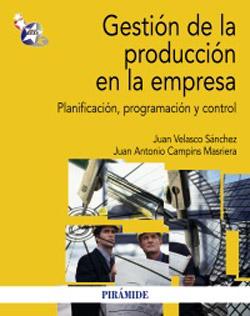 Portada de Gestión de la producción en la empresa
