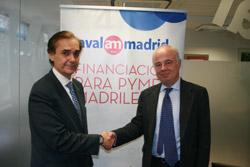 Firma de acuerdo entre Avalmadrid y AERL