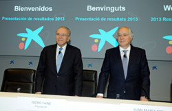 Isidro Fainé y Juan María Nin, de Caixabank