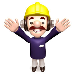 Trabajadores contentos, de Free Download
