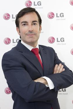 Carlos Olave, de LG