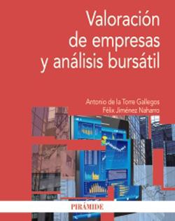 Portada de valoraciónd e empresas y análisis bursátil