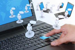 redes sociales en el trabajo