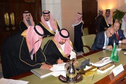 Firma de contrato de Indra en Riad