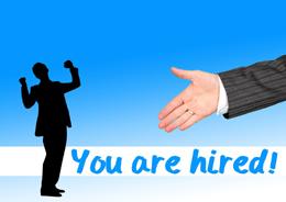 Hombres contratados, de Pixabay