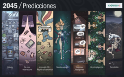 Predicciones de futuro, de Kaspersky