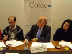 Presentación en Cotec de Juan Mulet