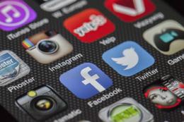 Inicio en redes sociales, de Pixabay
