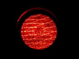 Semáforo rojo, de Pixabay