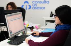 Consulta a un asesor, nueva web