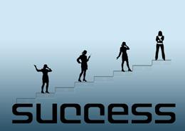 Emprendedores hacia el éxito, de Pixabay