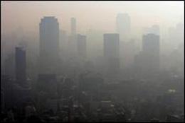 Contaminación en China, de El Tiempo