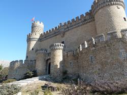 Castillo Manzanares Real, de Open