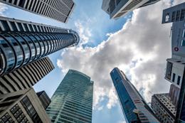 Empresas en nube, de Pixabay