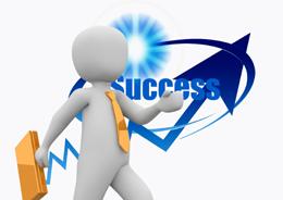 Vendedor de éxito, de Pixabay