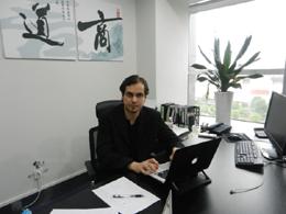 Adrián Díaz, de SedeenChina