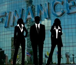 Empleados de banca, de Pixabay
