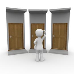 Cliente en puerta, de Pixabay