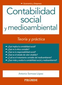 Portada de Contabildiad social y medioambiental