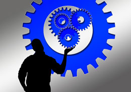 Trabajador de industria, de Pixabay