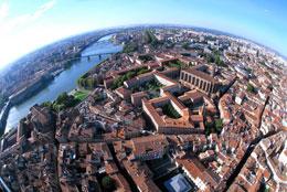 Vista de Toulouse, de Open