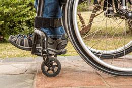 Discapacitado joven, de Pixabay