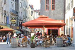 Barrio de Bouffay de nantes, de Open