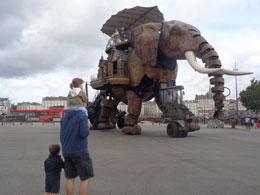 Elefante articulado de Nantes, de Open