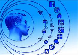 Redes sociales y clientes, de Pixabay