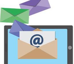 Email de clientes, de Pixabay