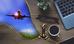 Viaje de negocios, de Pixabay