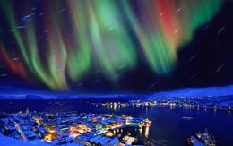 Aurora boreal en Helsinki, de Open