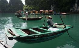 Barcas en el Delta del Mekong, de Open