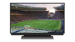 Fútbol en televisión, de Pixabay
